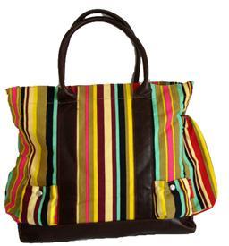 Urbanna randig väska
