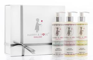 Harry & Rose Baby Bath Gift Set