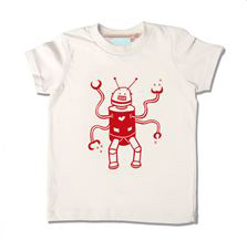 Little Lark T-shirt Robot Neutral