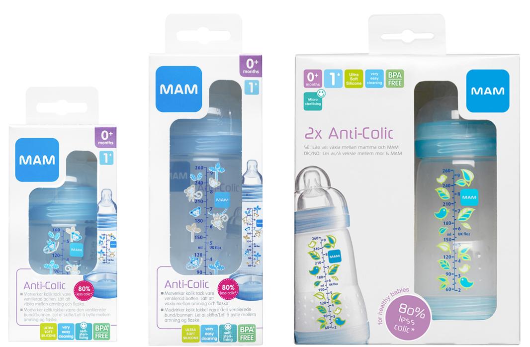MAM Anti Colic Bottle