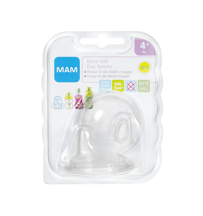 MAM Extra Soft Cup Spout