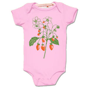 Little Lark Body kort ärm Strawberry