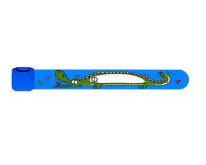 Infoband Blå Krokodil
