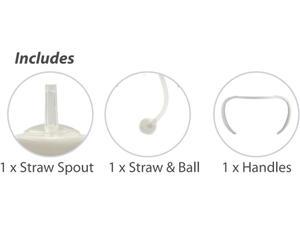 Cherub Baby Straw Cup Adaptor Pack (Wideneck)