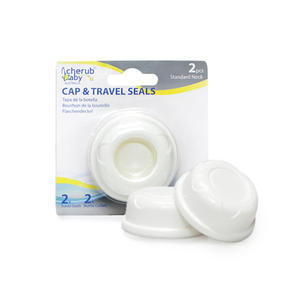 Cherub Baby Wide Neck Travel Caps