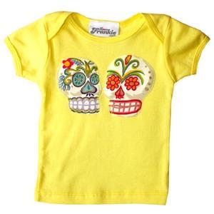 Love Frankie T-shirt Skull