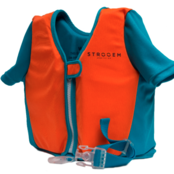 Strooem Swim vest 1-2 år Turkos/Orange