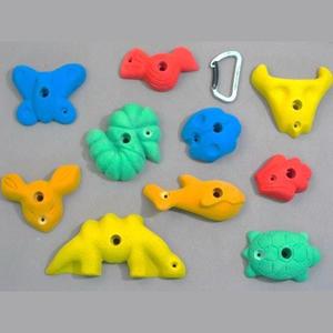 Ergoholds Animals - Klättergrepp med djurmotiv 10 st